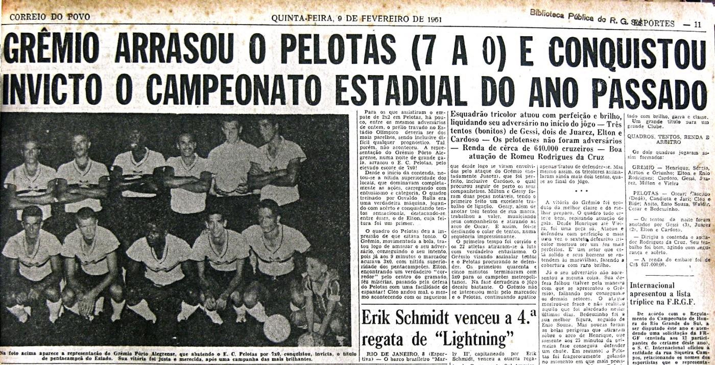 Jornal da época