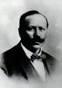 O comerciante alemão Johannes Christian Moritz Minnemann, um dos pais do futebol gaúcho.