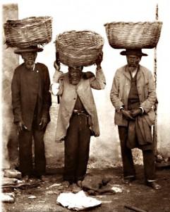 Descendentes de escravos em Porto Alegre de 1895 (fotos de Herr Colembusch)