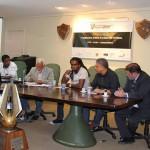 Painelistas do 1º Seminário sobre Racismo no Futebol