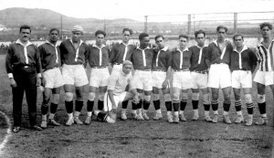 O Vasco, campeão carioca em 1923