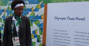 Janeth Arcain foi a prefeita da Vila Olímpica dos Jogos Rio 2016. Foto: ONU Mulheres / Gustavo Stephan
