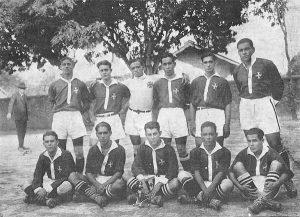 Time do Vasco Campeão da 1ª Divisão do Carioca em 1923 (foto reprodução)