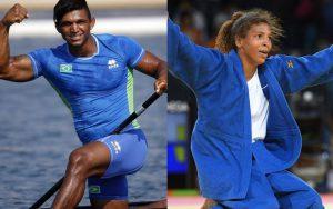 Reprodução Isaquias Queiroz e Rafaela Silva são os vencedores do Prêmio Brasil Olímpico