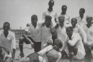No inicio do século XX os atletas negros não podiam disputar os mesmos campeonatos dos jogadores brancos. Assim, criaram a Liga da Canela Preta.