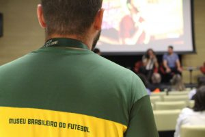 O Museu Brasileiro do Futebol recebeu uma programação especial durante a semana passada (foto reprodução)