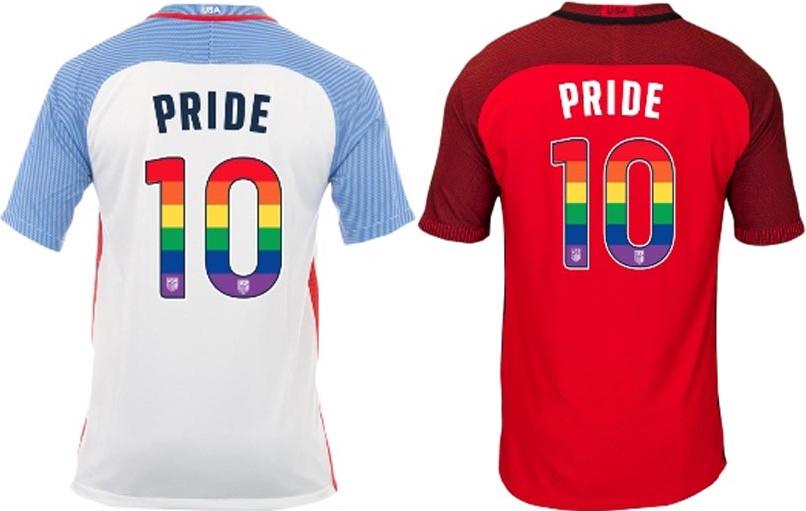 Estados Unidos usarão camisas em homenagem ao mês do orgulho LGBT 8e638d19f2f66