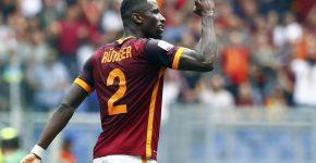 Zagueiro da seleção alemã, Rüdiger defende as cores da Roma. Foto: Tony Gentile/Reuters