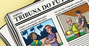 ilustração do Relatório  Anual da Discriminação Racial 2015